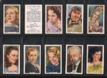 My Favourite Part 1939 cigarette cards Film stars